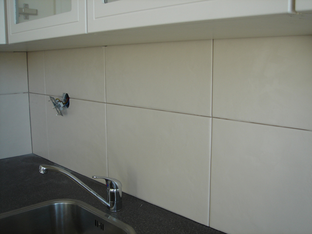 Impressie Keukentegels - Tegelzetwerken